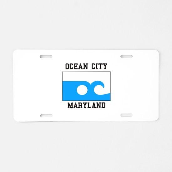 Ocean City, Maryland Aluminum License Plate