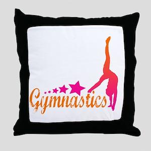 Gymnastics! Throw Pillow