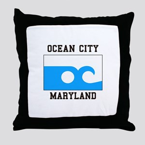 Ocean City, Maryland Throw Pillow