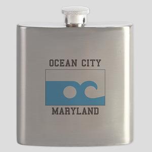 Ocean City, Maryland Flask