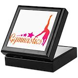 Gymnastic Square Keepsake Boxes