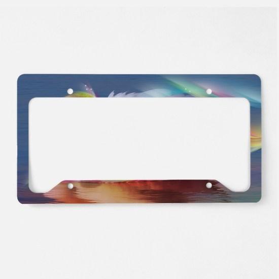 Swan License Plate Holder