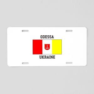 Odessa, Ukraine Flag Aluminum License Plate
