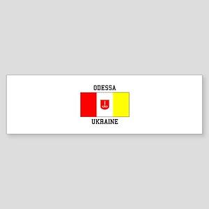 Odessa, Ukraine Flag Bumper Sticker
