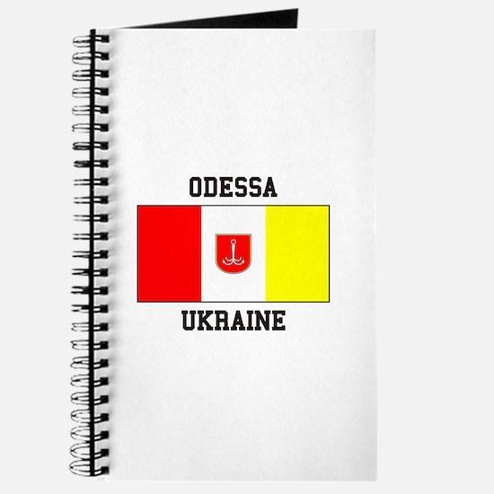 Odessa, Ukraine Flag Journal