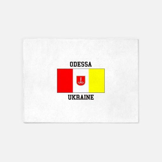 Odessa, Ukraine Flag 5'x7'Area Rug