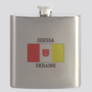 Odessa, Ukraine Flag Flask