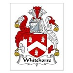 Whitehorse Family Crest Small Poster