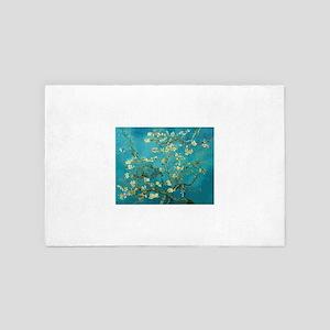 Vincent Van Gogh Blossoming Almond Tre 4' x 6' Rug