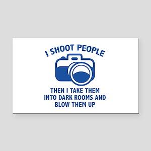 I Shoot People Rectangle Car Magnet