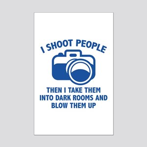 I Shoot People Mini Poster Print