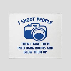 I Shoot People Stadium Blanket