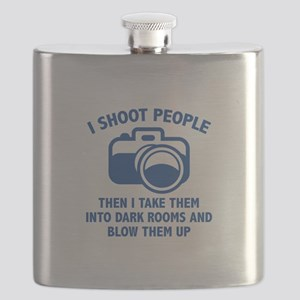 I Shoot People Flask