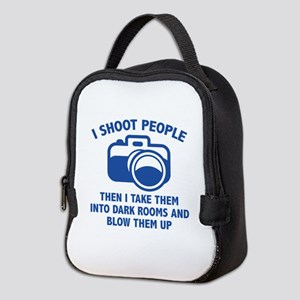 I Shoot People Neoprene Lunch Bag