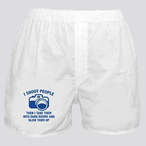 I Shoot People Boxer Shorts