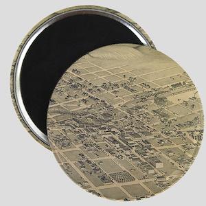 Vintage Pictorial Map of El Paso Texas (188 Magnet