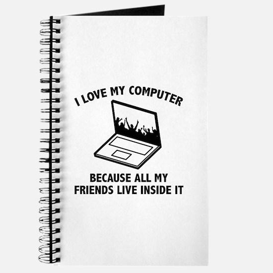 I Love My Computer Journal