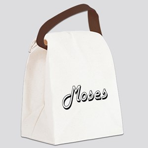 Moses surname classic design Canvas Lunch Bag