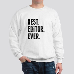 Best Editor Ever Sweatshirt