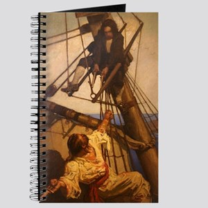 One more step Mr. Hands - N.C. Wyeth paint Journal