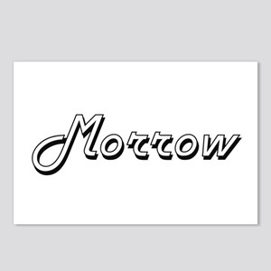 Morrow surname classic de Postcards (Package of 8)