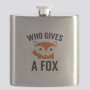 Who Gives A Fox Flask