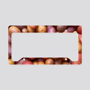 Potatoes License Plate Holder