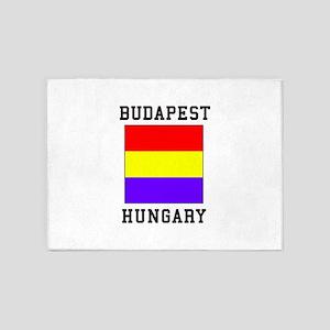 Budapest Hungary 5'x7'Area Rug