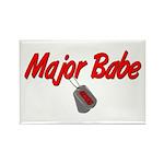 USCG Major Babe Rectangle Magnet (100 pack)
