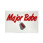 USCG Major Babe Rectangle Magnet (10 pack)