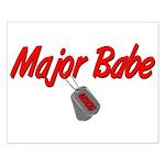 USCG Major Babe Small Poster