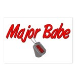 USCG Major Babe Postcards (Package of 8)