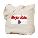 USCG Major Babe  Tote Bag