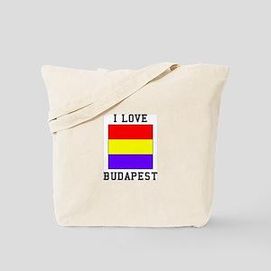 I Love Budapest Tote Bag