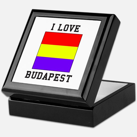 I Love Budapest Keepsake Box