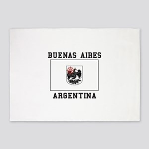Buenos Aires Argentina 5'x7'Area Rug