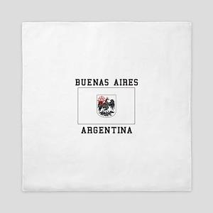 Buenos Aires Argentina Queen Duvet