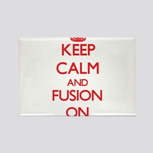 Keep Calm and Fusion ON Magnets