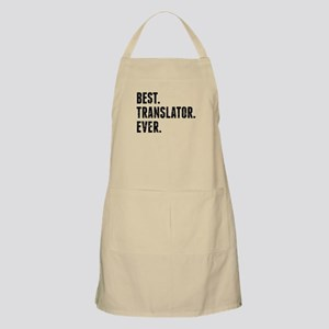 Best Translator Ever Apron