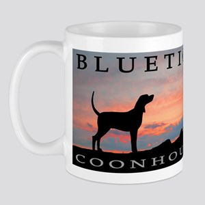 Bluetick Coonhound Sunset Mug