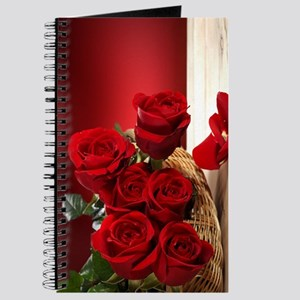 Superb Red Roses Journal