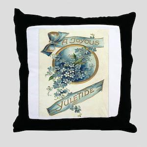 Joyous Yuletide Throw Pillow