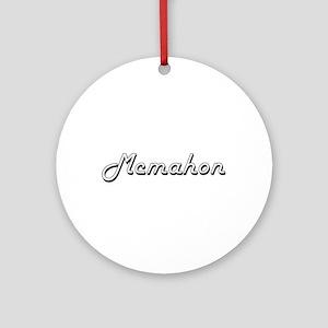 Mcmahon surname classic design Ornament (Round)