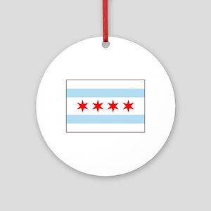 Chicago, Illinois USA Ornament (Round)