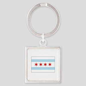 Chicago, Illinois USA Keychains