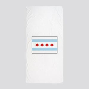 Chicago, Illinois USA Beach Towel