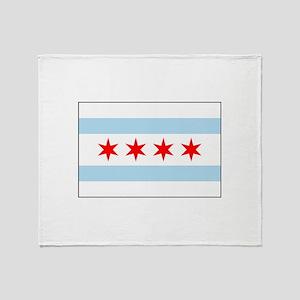 Chicago, Illinois USA Throw Blanket