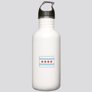 Chicago, Illinois USA Water Bottle