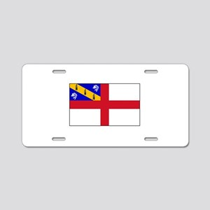 Channel Island of Herm Flag Aluminum License Plate