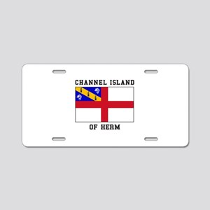 Channel Island of Herm Aluminum License Plate